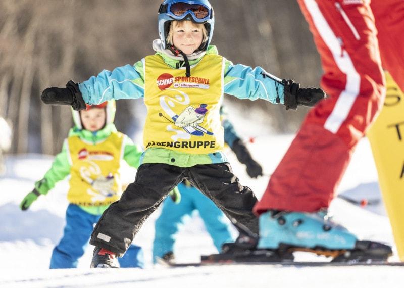 Aktion Kinderschnee - kostenloser Skikurs für Kinder bis 6 Jahre