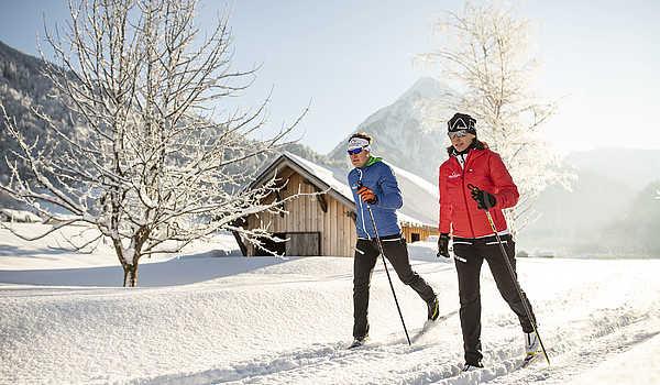 Langlaufen lernen im Bregenzerwald. Das perfekte Angebot inklusive Hotel.